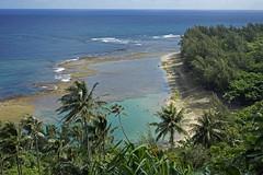Ke'e Beach - Na Pali Coast - Kauai, Hawaii, US (Stickwork-Steve) Tags: beach kauai keebeach