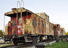 Louisville, Kentucky (10 of 11) (Bob McGilvray Jr.) Tags: louisville ky kentucky caboose steel cupola nw norfolkwestern railroad train tracks saved scrap