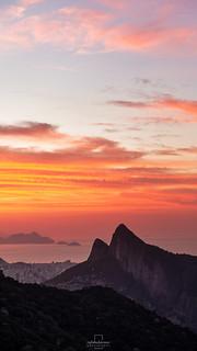 Sunrise @Pedra Bonita, Rio de Janeiro, Brazil