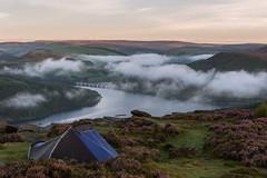 A New Day (charlieshelton33) Tags: peak district wild camp tent cloud inversion heather bamford edge castleton sunrise hills light beautiful camping golden hour
