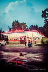 cab-103 (DiPics) Tags: car culture chuck burger cruise joint return vintage chrome americana wheels summer st louis overland chapels rock road roll metal neon