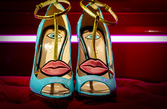 What are You looking At? (Maurits Verbiest) Tags: shoes eyes kiss lips