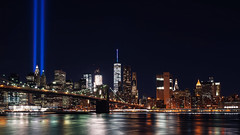 Never Forget #2 (Dj Poe) Tags: nyc ny manhattan brooklyn bridge 911 memorial skyline cityscape city colors tones cinema cinematic 2016 andrewmohrer djpoe bklyn newyork newyorkcity le longexposure 35mm sonya7rii sonya7r2 sonyilce7rm2 distagont1435 ze availablelight carlzeisslenses zeiss sony