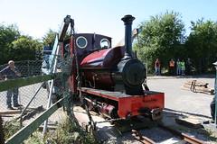 14 (Hampton & Kempton Waterworks Railway.) Tags: darent arrives loop