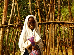 young konso girl (davidevarenni) Tags: ethiopia konso young girl tribe trib