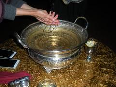 hand washing basin at Menara Moroccan Restaurant (ixfd64) Tags: ixfd64 nikon coolpix menara