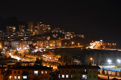 Giresun at Night (dima_abuarida) Tags: nofilter mountainsea cityscape urbanfabric urbanscene urbanism travel bayram notripod nikond3100 turkey karadeniz sea blacksea nikon solotravel tourism tatil night lights nightphotography giresun