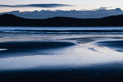 Dawn at the beach (Merrillie) Tags: daybreak uminabeach sand landscape nature australia mountains nswcentralcoast newsouthwales sea nsw beach ocean centralcoastnsw umina dawn photography waves outdoors seascape waterscape centralcoast water sunrise