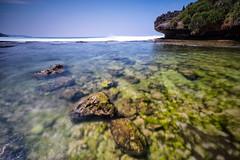 Unexpectedly (nGkU Li) Tags: ngkuli nature indonesia seascape rock beach sea yogyakarta flickrtravelaward fujifilm xpro2 raymastersfilters outdoor water