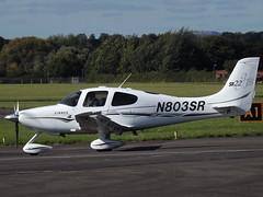 N803SR Cirrus SR22 (Aircaft @ Gloucestershire Airport By James) Tags: gloucestershire airport n803sr cirrus sr22 egbj james lloyds