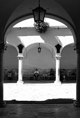 Seclusion after shock: lanterns and shadows at the daylights (simone_aramini) Tags: blackandwhite biancoenero blackwhitephotos beauty bellezza bw streetphotography scapes nikond200 naturallight nikon ngc nationalgeografic contrast umbria