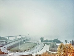 (annblack4) Tags: world travel like iphone siberia urban city river smog nice morning