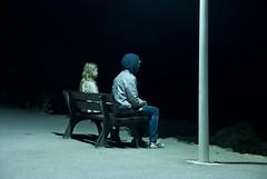 View (Peter du Gardijn) Tags: night girl boy streetlight france cte dazur coast mediterranean nikond200 ctedazur