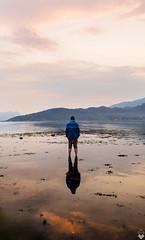 Sunset and high tide (Torjan Haaland) Tags: sunset high tide flo fjære laupsa øystese norway norge hordaland solnedgang explore fjord hardanger olympus omd em1 17mm 1240mm f28 pro zd mzuiko