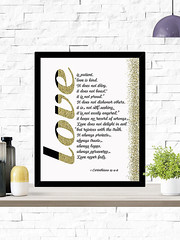 Love Is Patient Love Is Kind 1 Corinthians 13:4-8 (PrintArtPosters) Tags: prints home house decor ideas walldecor art wallart pictures artwork wall posters jpg pdf print digitalprints homedecor printableart typographyart typography artprints printable gift room popular design dorm apartment etsy printartposters love corinthians bible christian quote scripture gold
