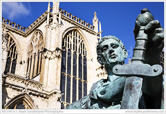 Constantine the Great Statue York ( Mark Sunderland www.marksunderland.com) Tags: travel architecture northyorkshire city york minster constantine statue sculpture bronze roman emperor christian convert sword cross symbol christianity holyromanempire britain britishisles england europe gb greatbritain northernengland uk unitedkingdom yorkshire bluesky sunnyday ukengland