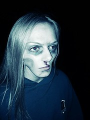 zombie, make up & photo editted (Lucy April Carney) Tags: zombie edit distortion photoshop photography
