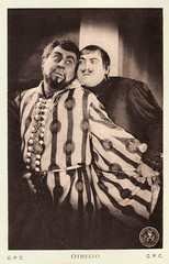 Emil Jannings and Werner Krauss in Othello (1922) (Truus, Bob & Jan too!) Tags: wernerkrauss werner krauss german actor european filmstar cinema silent film kino cine screen picture movie movies filmster star sepia vintage postcard postkarte carte postale cartolina tarjet postal postkaart ansichtkaart ross rossverlag emiljannings emil jannings othello shakespeare 1933 gpc