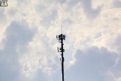 Torre de Sinal (Victor H.S.) Tags: torre céu núvens