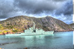 HMCS Athabaskan Narrows 3 (Ross A Craig) Tags: stjohnsnewfoundland canadian navy united states hmcs fredericton athabaskan signal hill