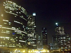 Curve (That Tall Girl Aj) Tags: city chicago night buildings lights nighr 1132010