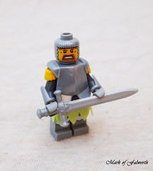 Two Handed Swordsman (Mark of Falworth) Tags: lego kings age warrior minifig custom unit empires aoe