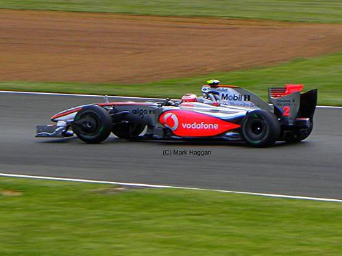 Heikki Kovalainen in his McLaren at the 2009 British Grand Prix