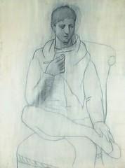 Picasso Black and White - El hombre de la pipa