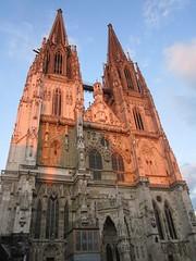 """Regensburg, la Cattedrale, """"Dom St. Peter"""" (Valerio_D) Tags: germany bayern deutschland bavaria regensburg germania baviera domstpeter ratisbona domsanktpeter ruby10 ruby5 2012estate ruby20 rubyfrontpage"""