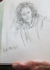 DRAWING BY DOROTHY FLINT_1055.jpg (amanosamarpan) Tags: drawing osho sannyasin btl13 dorothyflint bristolukdocks maprabhudamini