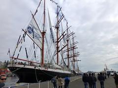 Sedov en Valparaso (RiveraNotario) Tags: chile barcos russia ships valparaso tallships rusia sedov veleros stssedov bricbarca