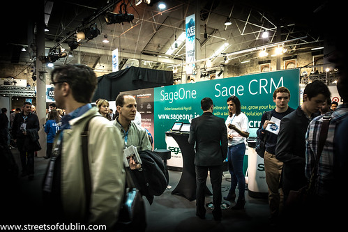 Sage CRM: Web Summit 2012 In Dublin (Ireland)
