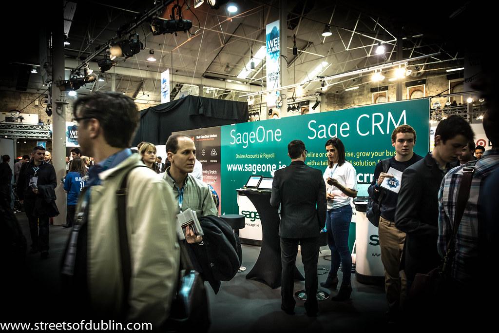 Sage CRM: Web Summit 2012 In Dublin (Ireland)
