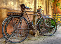 Rust'n Africa (grandalloliver) Tags: world africa summer vacation bike bicycle orlando rust florida kingdom disney disneyworld hdr animalkingdom waltdisney topaz g12 photomatix topazadjust canonpowershotg12 grandalloliver grandalloliverphoto