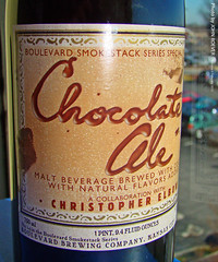 Blvd Chocolate Ale, 6 Feb 2012 (photography.by.ROEVER) Tags: beer february pint 2012 specialbeer boulevardbeer chocolateale pintbottle february2012 boulevardsmokestackseries boulevardchocolateale blvdchocolateale uniquebeer