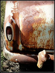 Yesterday's Ride ~ 1954 Chevrolet Bel Air (e r j k . a m e r j k a) Tags: classic cars chevrolet belair vintage pennsylvania 1954 chevy rusted butler crusty taillight evanscity pa68 erjkprunczyk