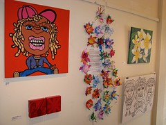 Install shot (Fresh Gallery Otara) Tags: visualart artsale otara southauckland pacificart