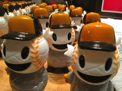 Giants Bobble Heads: horizontal