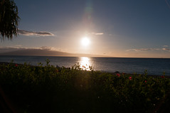 Sunset over Lanai (b0ssk) Tags: beach hawaii maui cliffjumper