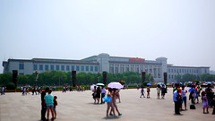 Crowds in Tienanmen Square - Beijing, China