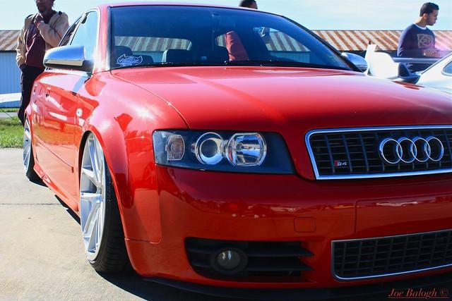 red car audi s4 2012 b6 brilliantred canibeat firstclassfitment