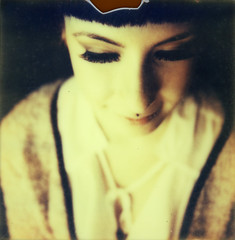 Mrcia (sdzn) Tags: portrait polaroid poalroid autaut polaroidslr690 sdzn px680 chrismettraux