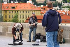 Prague - Czech Republic (Donatella Altea) Tags: people music republic czech prague praha praga reportage karlovmost streetphotographymusician