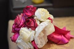 Lace Bouquet (R.ALGYED) Tags: flower rose bride lace bouquet weeding ورد روز عروس dantail فوشي دانتيل مسكه بوكيه