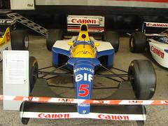 Williams FW14 B 1992 (tautaudu02) Tags: auto b cars festival automobile williams moto coches voitures 2012 fw14 lédenon historacing