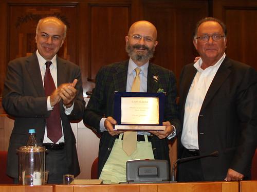 Premio controcorrente Luca Hasdà a Oscar Giannino e Mario Cervi