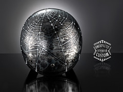 "Luxury Custom Helmet ""Spiderwoman"". (Unexpected Custom) Tags: original art bi"