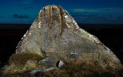 The Idol Rock, Ilkley Moor (Mabvith) Tags: uk england cup rock stone ancient yorkshire carving idol moor prehistoric markings ilkley rockart pagan neolithic marked rombalds ilkleymoor bronzeage