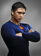 The Man of Steel (Othello Caleon) Tags: portrait man nikon muscle kitlens superman d90 18105mm