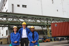 industry attachment at Evonik Degussa Antwerpen-Belgium 2012